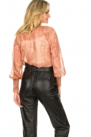 JC Sophie |  Printed blouse Fenn | pink  | Picture 5