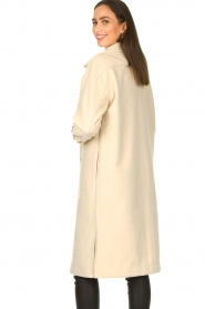 JC Sophie |  Oversized coat Fiona | beige  | Picture 6