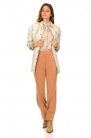 JC Sophie |  Floral blouse Felisha | naturel  | Picture 3