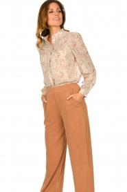 JC Sophie |  Floral blouse Felisha | naturel  | Picture 4
