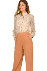 JC Sophie |  Floral blouse Felisha | naturel  | Picture 5