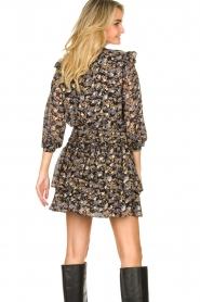 Sofie Schnoor |  Floral skirt Lara | black  | Picture 7