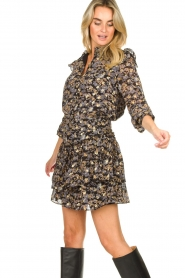 Sofie Schnoor |  Floral skirt Lara | black  | Picture 5