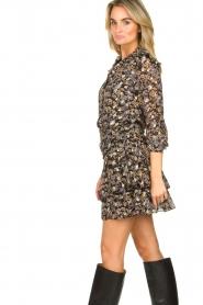 Sofie Schnoor |  Floral skirt Lara | black  | Picture 6