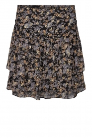 Floral skirt Lara | black