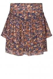 Sofie Schnoor |  Floral skirt Lara | blue  | Picture 1