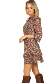 Sofie Schnoor |  Floral skirt Lara | blue  | Picture 5