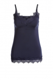 Set |  Sleeveless top with lace Chenna | blue  | Picture 1