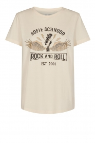 Sofie Schnoor | T-shirt with print | natural  | Picture 1