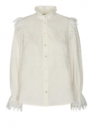 Sofie Schnoor |  Broderie blouse Feliciti | white  | Picture 1