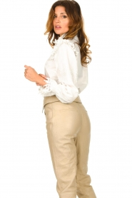 Sofie Schnoor |  Broderie blouse Feliciti | white  | Picture 5