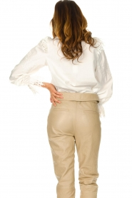 Sofie Schnoor |  Broderie blouse Feliciti | white  | Picture 6
