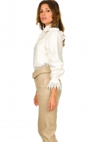 Sofie Schnoor |  Broderie blouse Feliciti | white  | Picture 4