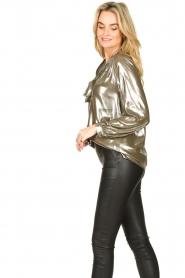 Dante 6 |  Metallic blouse Munda | metallic  | Picture 5