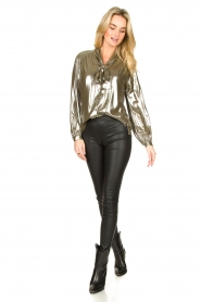 Dante 6 |  Metallic blouse Munda | metallic  | Picture 3