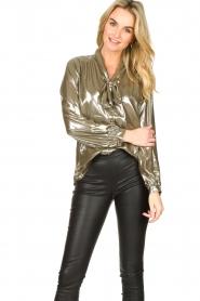 Dante 6 |  Metallic blouse Munda | metallic  | Picture 4