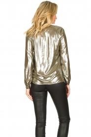 Dante 6 |  Metallic blouse Munda | metallic  | Picture 6
