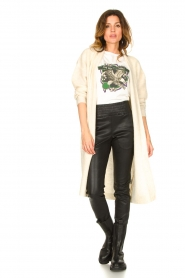 Ibana |  Leather pants Colette | black  | Picture 4