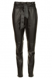 Dante 6 |  Faux leather pants Duncan | black  | Picture 1