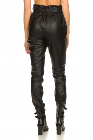 Dante 6 |  Faux leather pants Duncan | black  | Picture 7