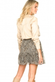 Dante 6 |  Silk stretch blouse Zayn | natural  | Picture 6