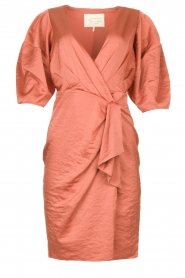 Notes Du Nord |  Puff sleeve dress Penelope | pink  | Picture 1