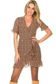 Freebird |  mini dress florals Rosy | Multi   | Picture 2