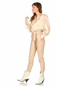 Dante 6 |  See-through blouse Mauri | natural  | Picture 3