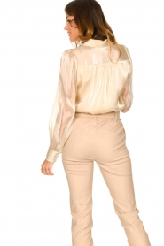 Dante 6 |  See-through blouse Mauri | natural  | Picture 6