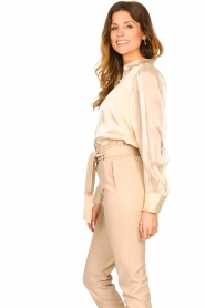 Dante 6 |  See-through blouse Mauri | natural  | Picture 5