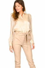 Dante 6 |  See-through blouse Mauri | natural  | Picture 4