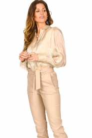 Dante 6 |  See-through blouse Mauri | natural  | Picture 2