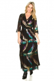 Dante 6 |  Maxi-dress Karyn | black  | Picture 2
