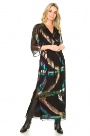 Dante 6 |  Maxi-dress Karyn | black  | Picture 3