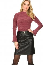 Dante 6 |  Lurex top Kenna | pink  | Picture 2