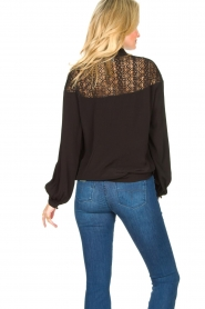 Dante 6 |  Blouse with cutwork embroidery Camdyn black  | Picture 6