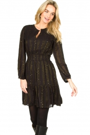 Dante 6 |  Openwork dress Okala | black  | Picture 2