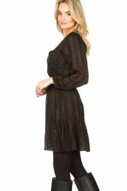 Dante 6 |  Openwork dress Okala | black  | Picture 6