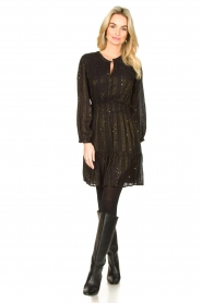 Dante 6 |  Openwork dress Okala | black  | Picture 3