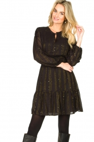 Dante 6 |  Openwork dress Okala | black  | Picture 4