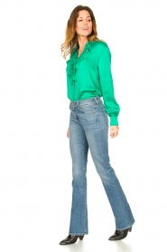 Dante 6 |  Blouse with ruffles Sylvian | green  | Picture 3