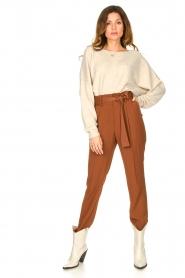 Dante 6 |  Trousers Brandoo | brown  | Picture 3