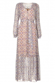 Dante 6 |  Printed maxi dress Florence | multi  | Picture 1