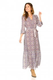 Dante 6 |  Printed maxi dress Florence | multi  | Picture 4