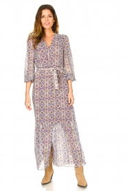Dante 6 |  Printed maxi dress Florence | multi  | Picture 3