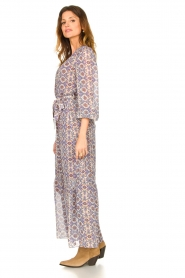 Dante 6 |  Printed maxi dress Florence | multi  | Picture 5