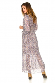 Dante 6 |  Printed maxi dress Florence | multi  | Picture 6