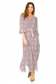 Dante 6 |  Printed maxi dress Florence | multi  | Picture 2