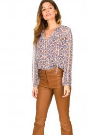Dante 6 |  Printed blouse Cairo | multi  | Picture 5