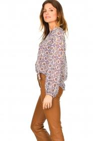 Dante 6 |  Printed blouse Cairo | multi  | Picture 6